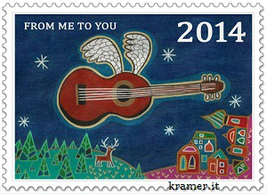 Flying-guitar-briefmarke_sybille_tezzelekramer