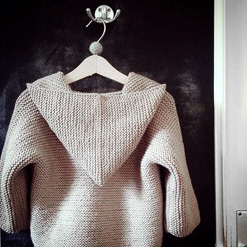 NATURKINDER: Hooded Sweater