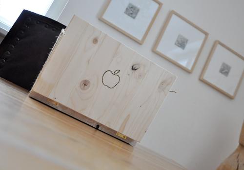 NATURKINDER: Einen Rechner aus Holz machen 6537
