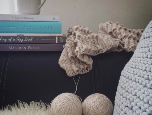 NATURKINDER: Books and Knitting