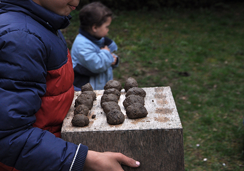 NATURKINDER: How we make our own seed bombs!