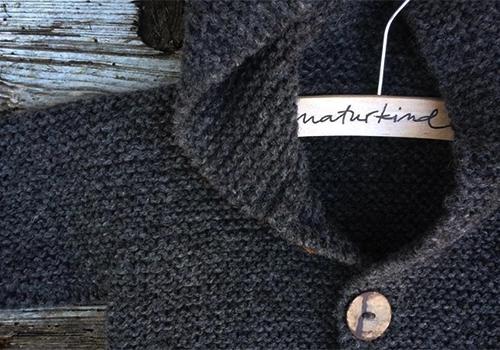 NATURKINDER: Baby Kapuzen Janker Strickanleitung ... Hooded Sweater Knitting Pattern