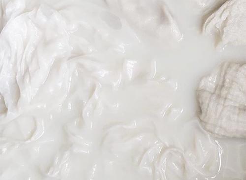 NATURKINDER: Handdyeing (cotton, silk, yarn) with Natural Materials | Preparation with Soy Bean Milk