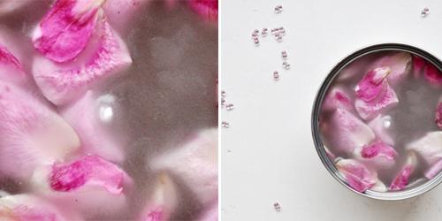 NATURKINDER: Making Rose Petal Candles 0770