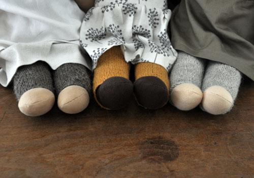 NATURKINDER: Knitting | Doll Tights/Pants 3483