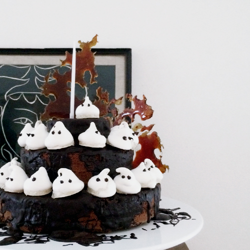 NATURKINDER: Halloween Cake and Recipe 9957