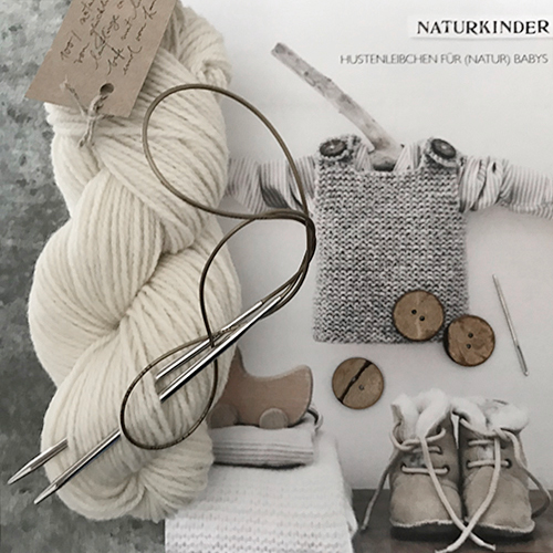 NATURKINDER: BABY Hustenleibchen | Cough Shirt KNIT-KIT <3 <3 <3