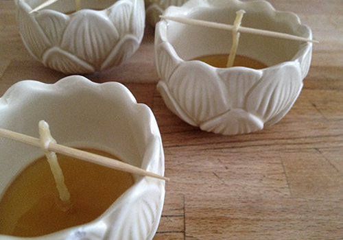 NATURKINDER: Bienenwachskerzen Recycling