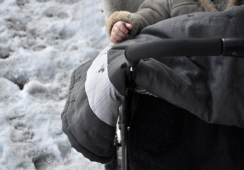 NATURKINDER: Eine Herbstdecke für unser Winterbaby