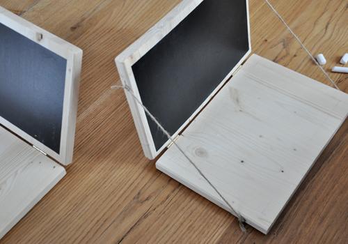 NATURKINDER: Einen Rechner aus Holz machen 6545