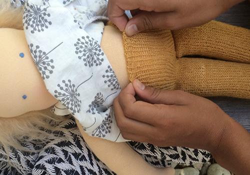 NATURKINDER: Knitting | Doll Tights/Pants 8789