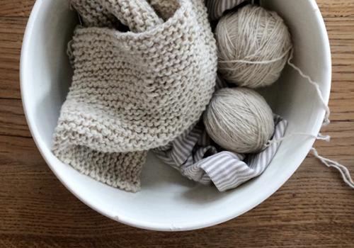 NATURKINDER: Knitting a Cough Shirt