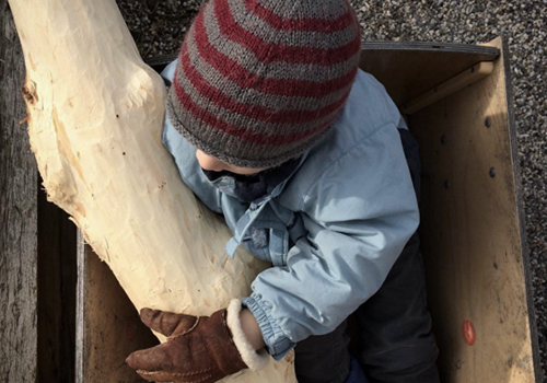 NATURKINDER: A very special Wood Project