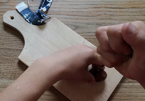 NATURKINDER:Making Chestnut Rockets!!! 1845