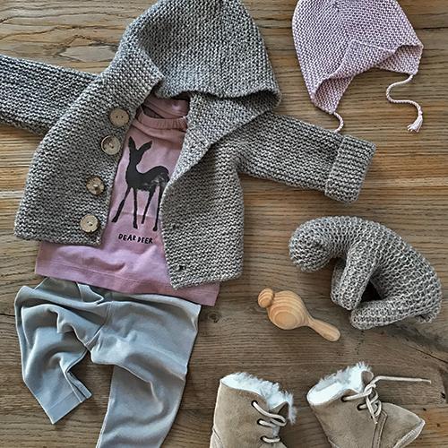 NATURKINDER: Jacket, Hat, Sheep > NATURKINDER PATTERN • Pants > NATURKINDER BABY Book • Rattle > Carved ♥ ♥ ♥