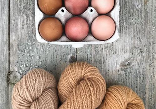 NATURKINDER: Wolle und Ostereier mit Naturfarben färben | Zwiebel