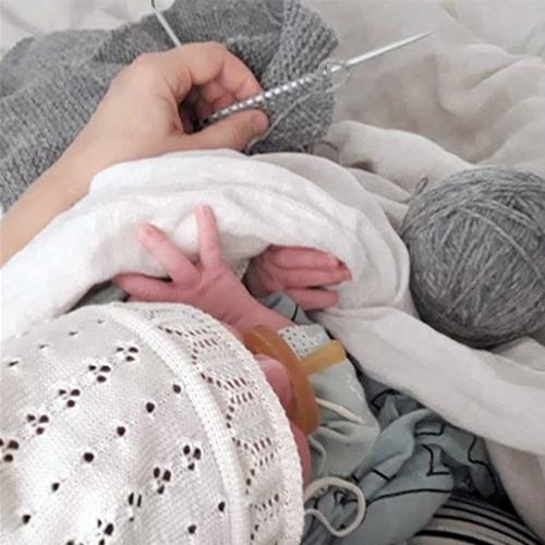 NATURKINDER Baby Kapuzenschlafsack und Kapuzenjanker