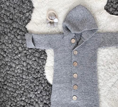 NATURKINDER   Hooded Baby Sleepingbag