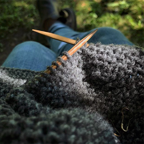 NATURKINDER: Summer Knitting #naturkinderhoodedjacket