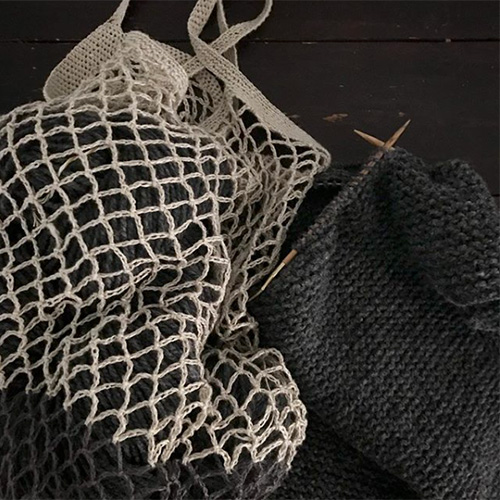 NATURKINDER: MANDALA Net Bag and Hooded Baby Jacket