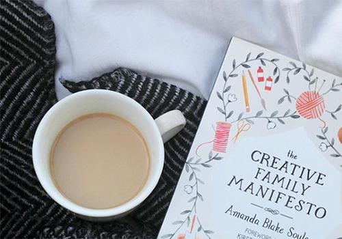 NATURKINDER: Reading ... The Creative Family Manifesto by Amanda Blake Soule
